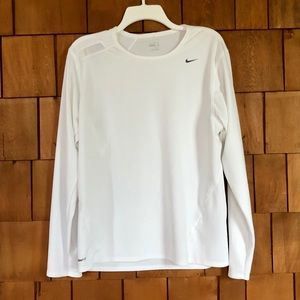 Nike Fit Dry men's athletic long sleeve shirt